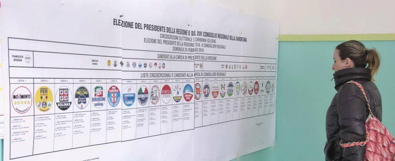Elezioni Sardegna Alle 19 Affluenza Al 4378 Salvini Rompe Il