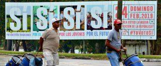 """Cuba, il voto sulla nuova Costituzione per uno Stato """"socialista"""": scompare la parola comunista ma non l'egemonia del Partito"""
