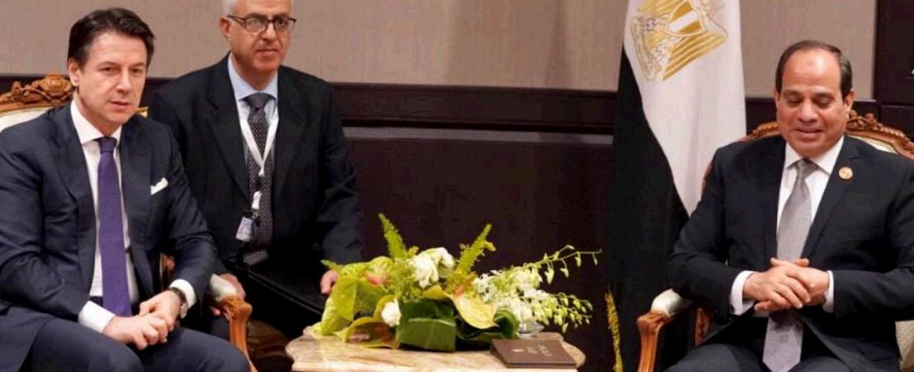 """Caso Regeni, Conte dopo l'incontro con Al Sisi: """"Dal presidente egiziano attenzione e impegno per una soluzione"""""""