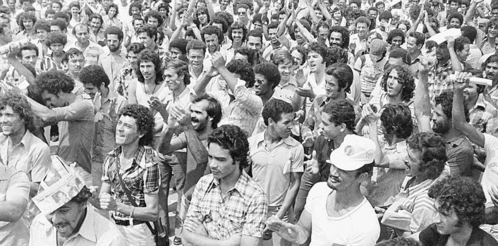 Diritti  calpestati  –  I lavoratori della Fiat Brasile organizzarono il primo sciopero  il 23 ottobre 1978 –  Foto di Maria Beatris Coelho