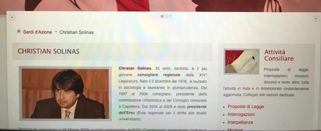 """Regionali Sardegna, nel 2011 Solinas risultava """"laureato"""" sul sito del partito. Ma il titolo è arrivato solo a fine 2018"""