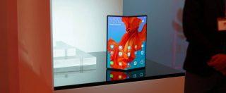 Lo smartphone pieghevole Huawei Mate X supporta il 5G e costa 2.300 euro