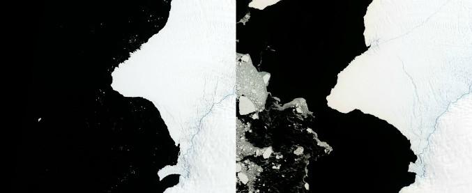"""Antartide, Nasa: """"Un iceberg grande due volte New York si sta staccando"""""""