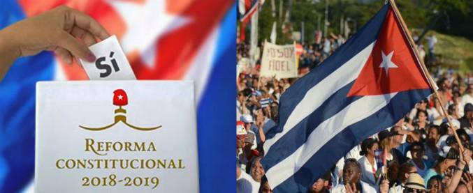 """Cuba, i cittadini approvano la nuova Costituzione: l'86,8% ha votato """"Sì"""""""