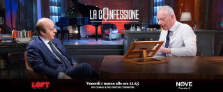"""La Confessione, Luciano Moggi su Nove: """"Wanda Nara? Procuratrice che fa danni, con me non si sarebbe nemmeno presentata"""""""
