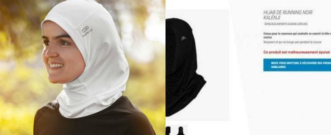 """Francia, polemiche contro Decathlon per vendita hijab sportivo dedicato alle atlete islamiche. Azienda cede: """"Lo ritiriamo"""""""