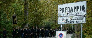 Selene Ticchi, militante indossò maglia Auschwitzland a Predappio: condannata a pagare 9mila euro di multa