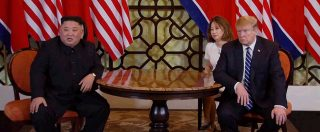 """Vertice Trump-Kim finisce senza accordo. Presidente Usa: """"Firma non era buona cosa. No a richiesta di togliere sanzioni"""""""