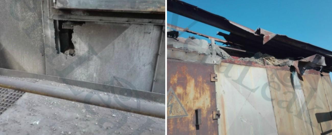 """ArcelorMittal, """"squarci negli impianti che dovrebbero catturare le diossine"""": la denuncia nelle foto dell'Usb di Taranto"""