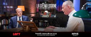 """La Confessione, Gomez a Moggi su Nove: """"Procacciò nel '91 delle escort agli arbitri prima di una partita del Torino?"""". """"Per me erano interpreti"""""""