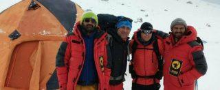 """Il 21 febbraio l'ultimo video dell'alpinista Daniele Nardi: """"C'è tanta neve, noi aspettiamo"""""""