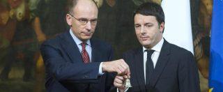 """#Enricostaisereno, nuovo scontro Renzi-Letta. """"Nel 2014 andò a casa per risultati devastanti"""". """"Volti pagina, si sta meglio"""""""