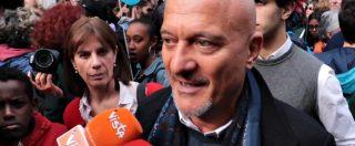 """People, anche Claudio Bisio alla manifestazione di Milano: """"Questa è l'Italia che mi piace. Io qui contro la paura"""""""