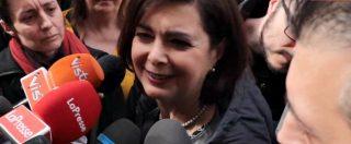 """Corteo People a Milano, Boldrini. """"Qui c'è vita, chi odia ha paura. Salvini? Non voglio rovinare questa giornata"""""""