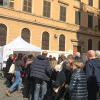 Gazebo di piazza Madonna ai Monti – centro storico Roma