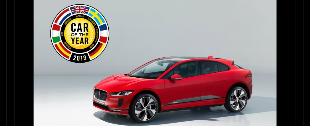 Car of The Year 2019, vince il suv elettrico Jaguar I-Pace