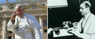 """Papa Francesco apre gli archivi segreti su Pio XII: """"La sua prudenza scambiata per reticenza. La Chiesa non teme la Storia"""""""