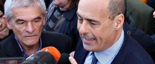 """Tav, Zingaretti: """"Criminale interrompere i bandi. Governo gioca con i programmi come con le figurine"""""""