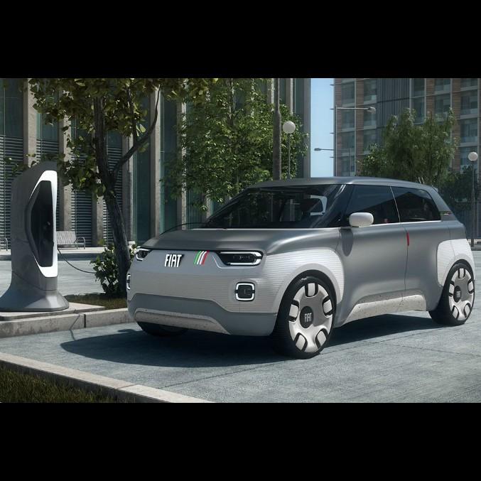 Fiat Concept Centoventi, l'erede della Panda è elettrica e debutta a Ginevra