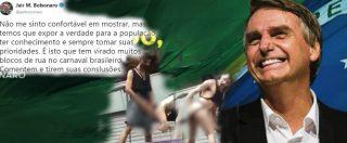 Il presidente del Brasile Bolsonaro pubblica video osceno contro il carnevale: richiesta l'espulsione da Twitter