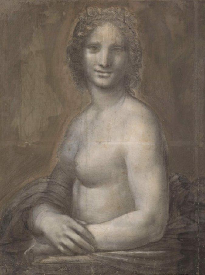 """""""La Monna Lisa nuda è davvero opera di Leonardo Da Vinci"""": gli esami del Louvre lo confermano"""