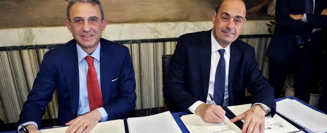 Valle del Sacco, via alle bonifiche: Costa e Zingaretti firmano il protocollo d'intesa. Finanziamenti per 53,6 milioni di euro