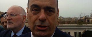 """Tav, Zingaretti: """"Il governo è nel tunnel della sua crisi. Ancora non cade perché non vogliono ammettere fallimento"""""""
