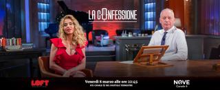 """La Confessione, Gomez a Marini sul Nove: """"Cosa ricorda dell'arresto di Cecchi Gori?"""". """"Scena da film. Droga? La mise qualcuno"""""""