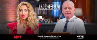 """La Confessione, Valeria Marini sul Nove: """"Per chi ho votato? Salvini"""". Gomez: """"Giusto bloccare minorenni su una nave?"""""""