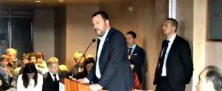 """Tav, Salvini: """"Preferisco spendere soldi per finire un buco sotto la montagna, non per riempirlo"""""""