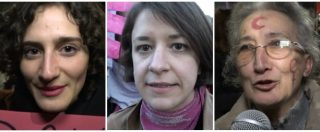 """Milano, migliaia di persone al corteo di 'Non una di meno': """"Diritti delle donne? Stiamo tornando indietro di 60 anni"""""""