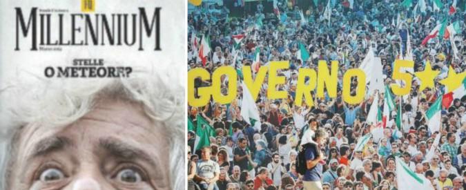 """Movimento 5 Stelle, che cosa resta dei meetup: """"Noi, i gilet gialli di 14 anni fa"""". Su Fq Millennium in edicola"""