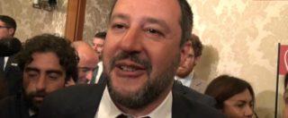 """Tav, Salvini: """"Se ne riparla lunedì, niente vertici. Cambiato idea su crisi? Niente di certo, siamo tutti nelle mani di Dio"""""""