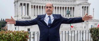 """Pd, Zingaretti: """"Tornare alle urne in caso di crisi di governo? Sì. Sul Tav l'esecutivo tiene l'Italia in ostaggio"""""""