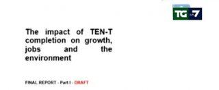 """Tav, La7 rivela studio inedito Ue a sostegno dell'Alta Velocità firmato da società di Ponti. """"Non è analisi costi-benefici"""""""