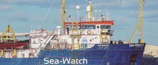 Sea Watch, top secret sui porti chiusi, ma i pm di Roma indagano