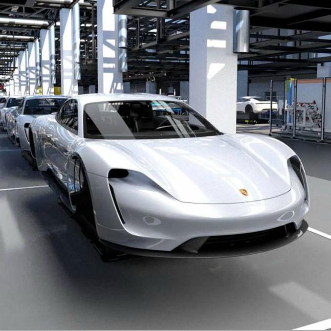 La Porsche Taycan ha già 20.000 clienti potenziali