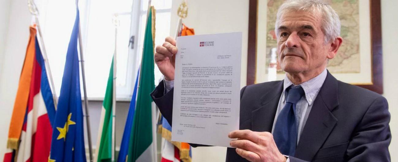 """Tav, Chiamparino chiede via libera per una consultazione popolare. Conte: """"Non si può"""". Ma Salvini: """"Magari…"""""""