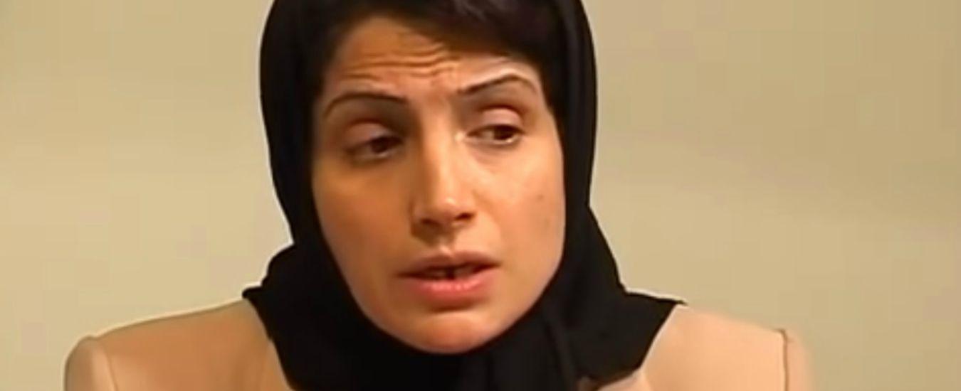Nasrin Sotoudeh, l'avvocata e attivista iraniana per i diritti umani condannata a 38 anni di carcere e 148 frustate