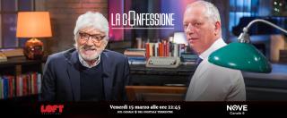 """La Confessione (Nove), Proietti: """"Primarie Pd? Ho votato. Il partito c'è ancora. Renzi? Sbagliati i tempi del referendum"""""""