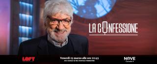 """La Confessione (Nove), Gigi Proietti a Gomez: """"La giunta Raggi? Troppo ferma. E il governo si dia una mossa"""""""