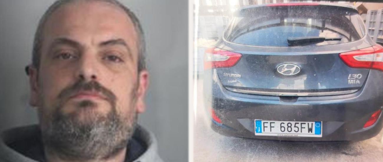 Reggio Calabria, arrestato l'uomo che ha cercato di dare fuoco all'ex moglie in auto