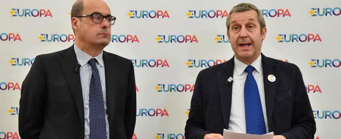 """Elezioni europee 2019, Pd e PiùEuropa correranno separati. Zingaretti: """"Faremo due liste aperte alla società civile"""""""