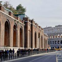 In cammino verso il Colosseo
