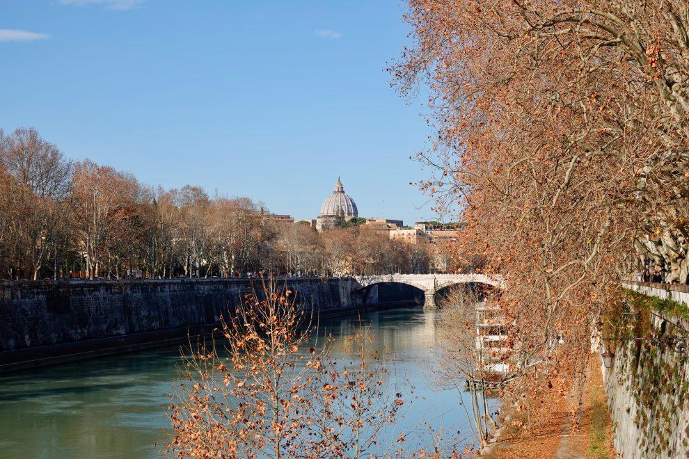 San Pietro visto da ponte Sisto