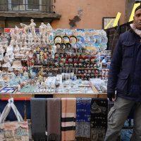 Venditore di souvenir
