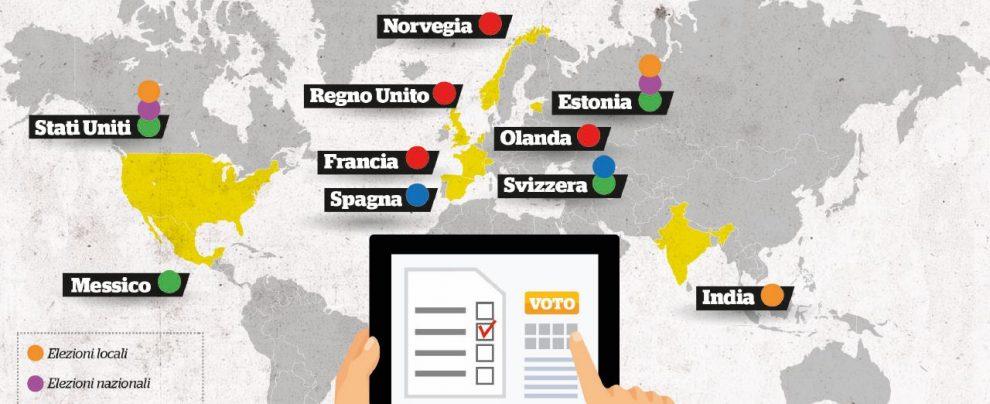Il M5S vuole il voto digitale: dove funziona e dove no