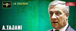 """Tajani: """"Mussolini? Ha fatto cose anche positive. Conte? E' gentile ma io parlo con chi decide, cioè Salvini e Di Maio"""""""