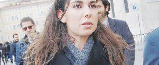 Giulia Sarti, a Montecitorio le immagini dello scandalo