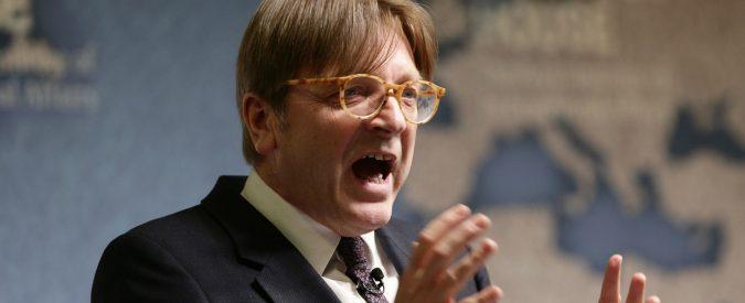 Verhofstadt chiamò Conte 'burattino'. Ora 425 mila euro mettono in imbarazzo lui e Macron